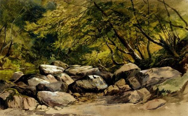 A Rocky Stream Lyndale Devon
